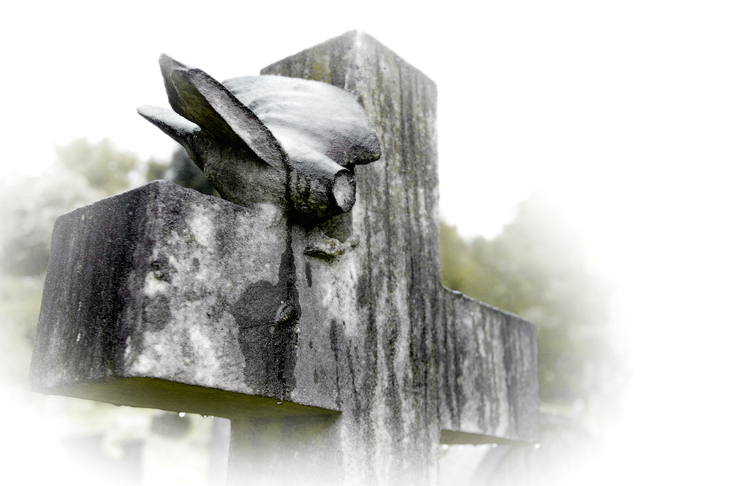 Dove of Peace, West Norwood Cemetery, London. (2016)