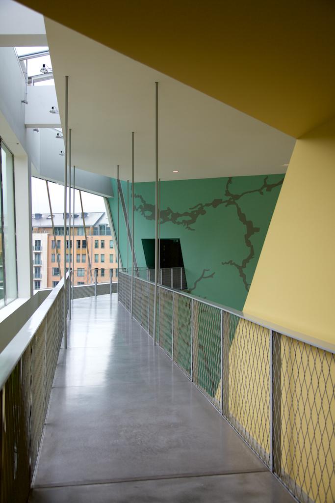 Musée Hergé, by Christian de Portzamparc, Louvain-la-Neuve, Belgium. (2009)