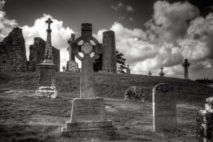Clonmacnoise, County Offaly, Ireland. (2012)