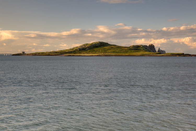 Ireland's Eye, as seen from Howth, north of Dublin