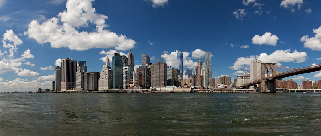 NY Skyline as seen from Brooklyn