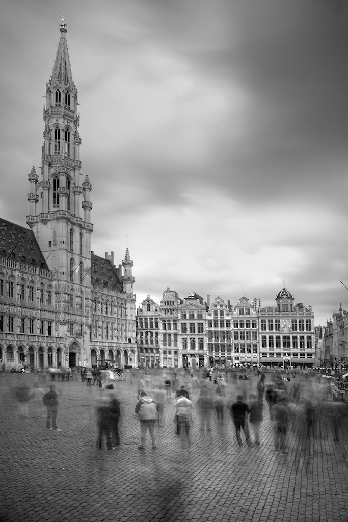 Grand'Place long exposure
