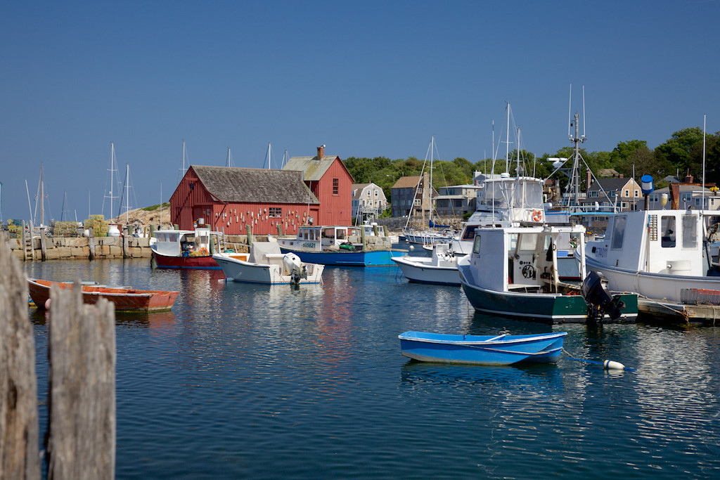Harbor with Fishing Shack Motif Number 1, Rockport, MA