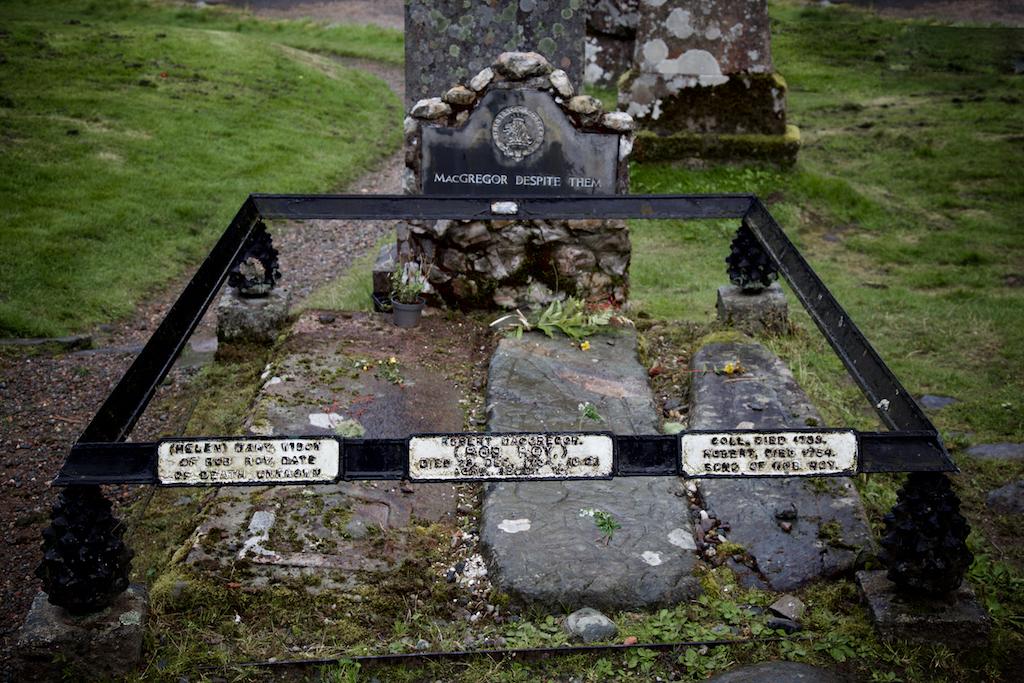Rob Roy MacGregor's Grave, Balquhidder, Scotland. (2017)