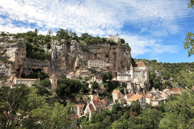 Rocamadour, Midi-Pyrénées, France. (2010)