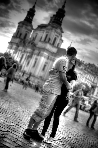 Kiss, Old Town Square