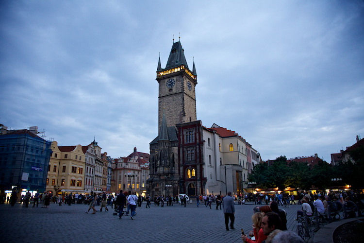 Old Town Hall, on the Old Town Square