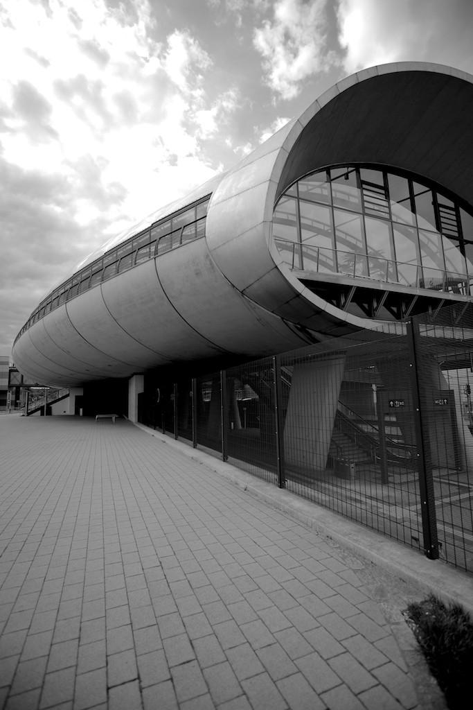 Belval-Université Train Station, by Jim Clemes, Esch/Belval, Luxembourg. (2014)