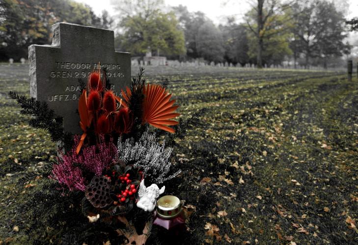 Deutscher Soldatenfriedhof, Luxembourg-Hamm. (2010)