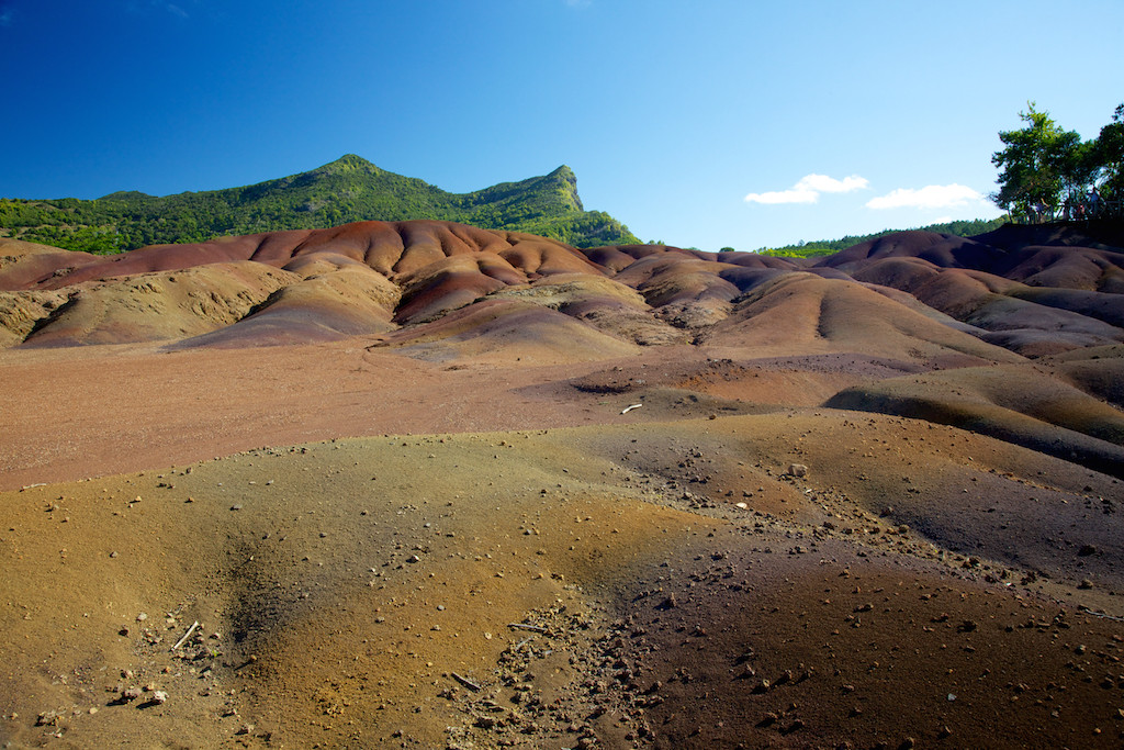 Seven-coloured Earth, Chamarel