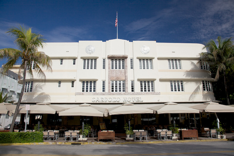 The Cardozo (1939), Art Deco Historic District, Miami Beach