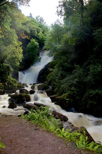 Torc Waterfall, Killarney, County Kerry