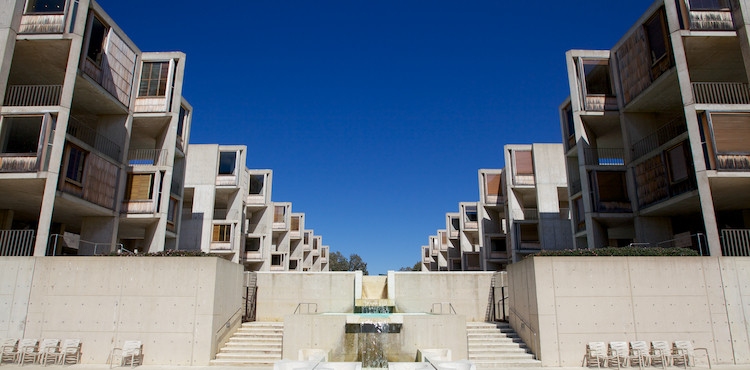 The Salk Institute, by Louis Kahn, La Jolla, CA, USA. (2013)