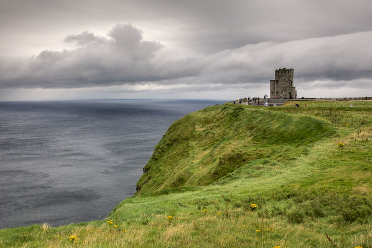 O'Brien's Tower, Cliffs of Moher, the Burren, County Clare