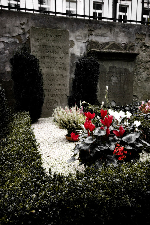Beethoven's Mother's grave, Alter Friedhof, Bonn, Germany. (2009)