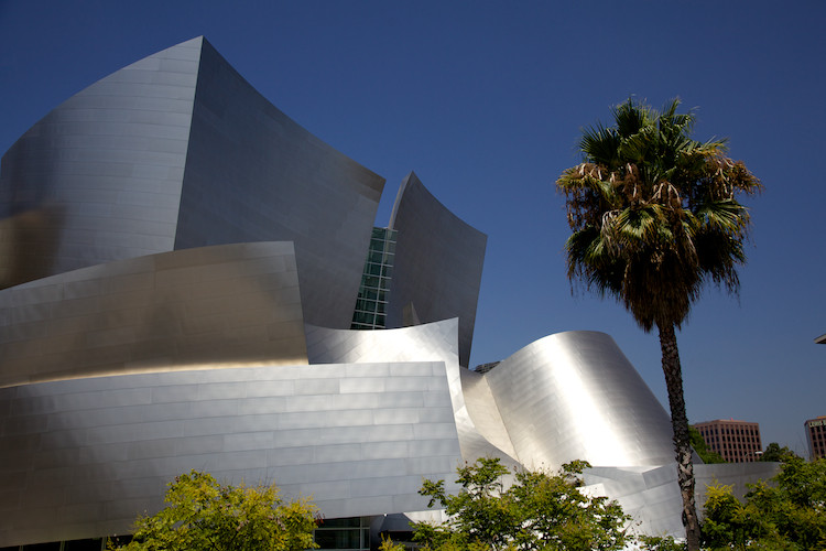 The Walt Disney Concert Hall, by Frank Gehry, Los Angeles, CA, USA. (2013)