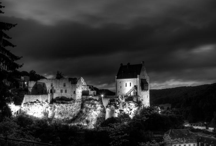 Castle of Larochette, Luxembourg. 11th century. (2010)