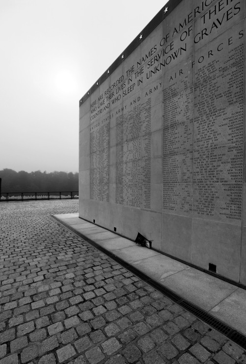 ...who sleep in unknown graves. Luxembourg American Cemetery and Memorial, Luxembourg-Hamm. (2010)
