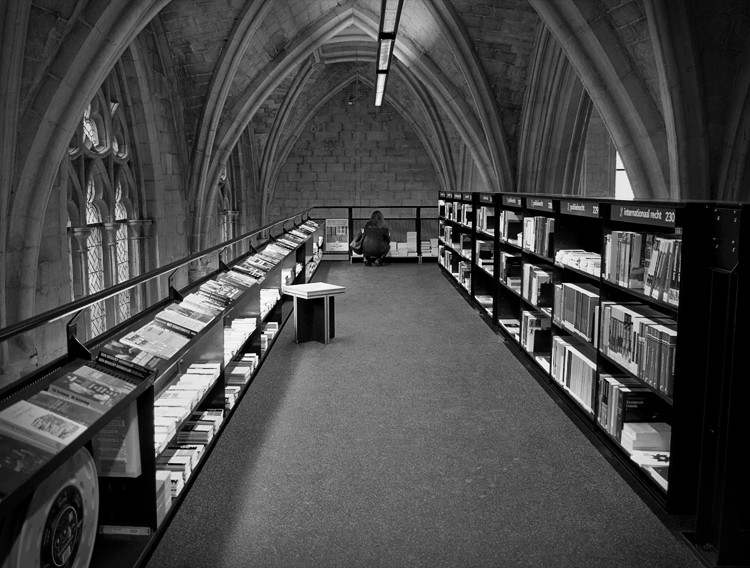 Browsing, Selexyz Dominicanen, Maastricht, Holland. (2013)