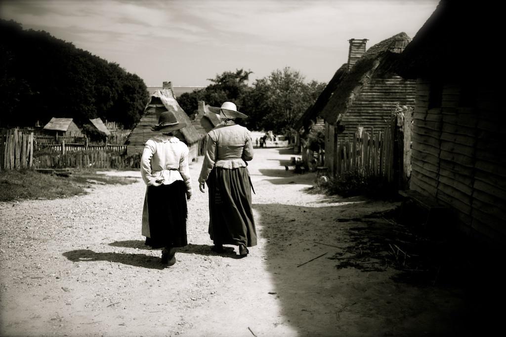 Pilgrims, Plimoth Plantation, Plymouth, MA