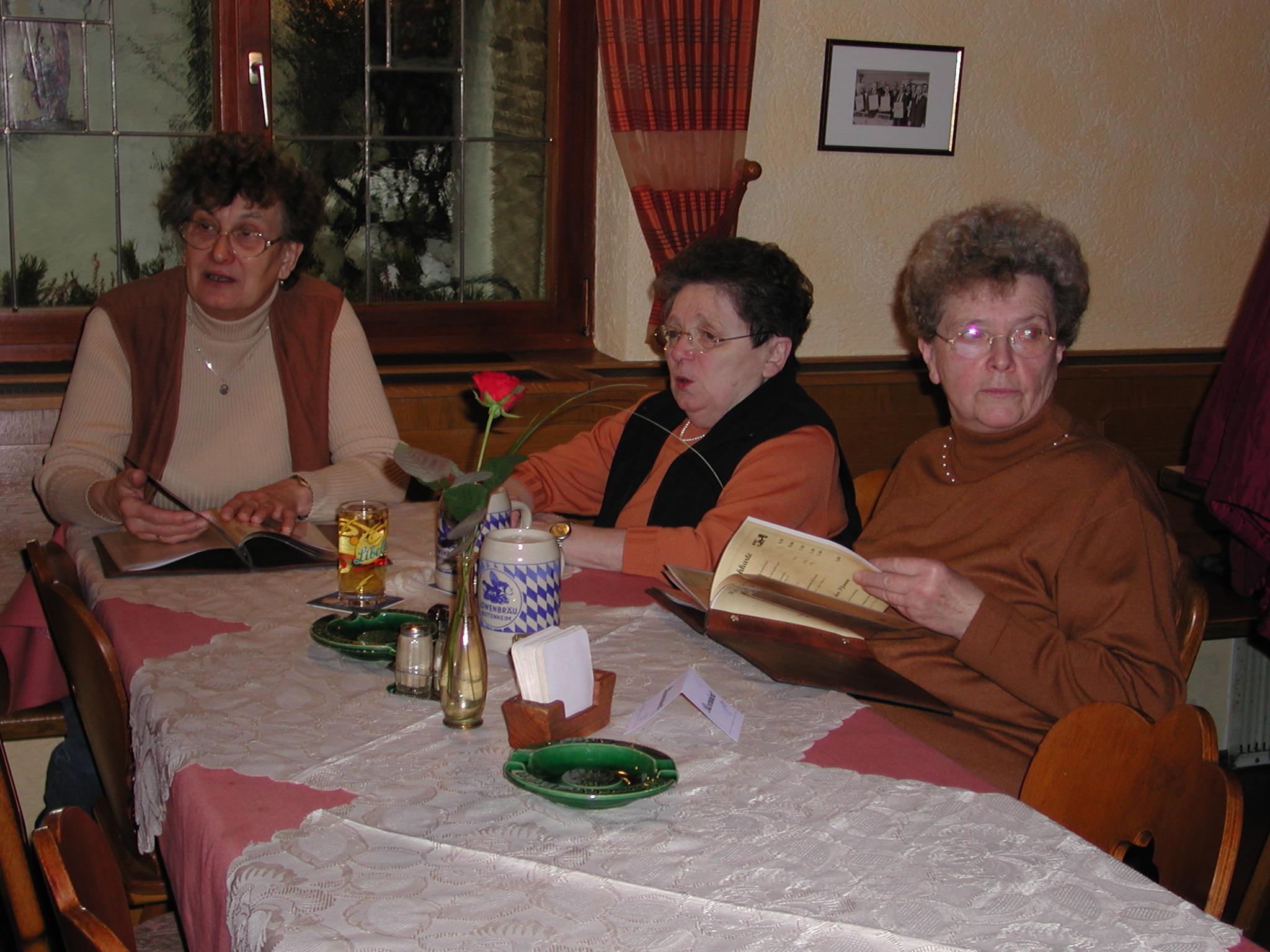 Frühjahrswanderung Rettern 2005