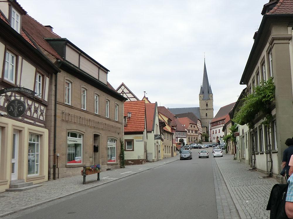 Stadtbesichtigung in Zeil am Main, 2012