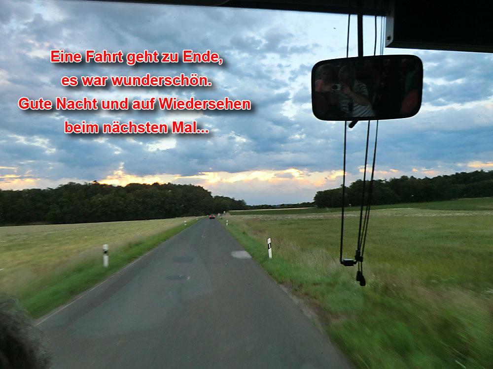 Heimfahrt mit dem Bus, 2012