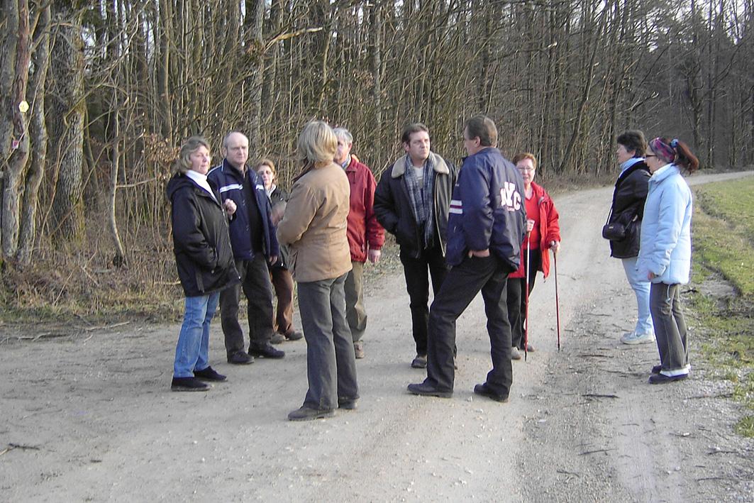 Frühjahrswanderung Rettern 2007