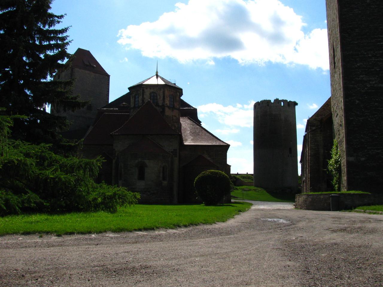 Burg Querfurt im Sommer