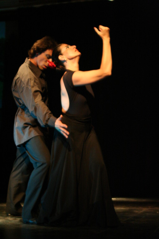 Cía Mo-Mo Teatro facetas dic 2009 ( Andrea Alicera y Gullibert Campell)