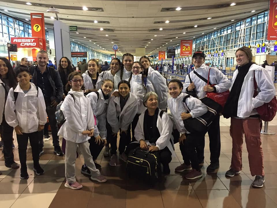 aeropuerto rumbo a Italia 2019