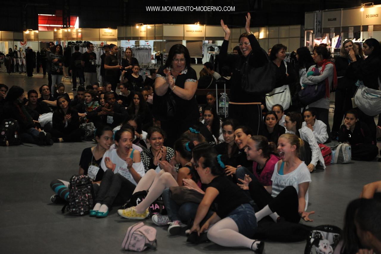 esperando premiación 2012 bento-em-danca
