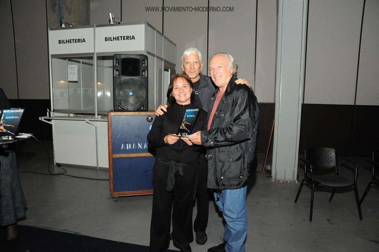 Premio mejor maestra, junto maestros y jurado Dominique Portier y Tito Barbon