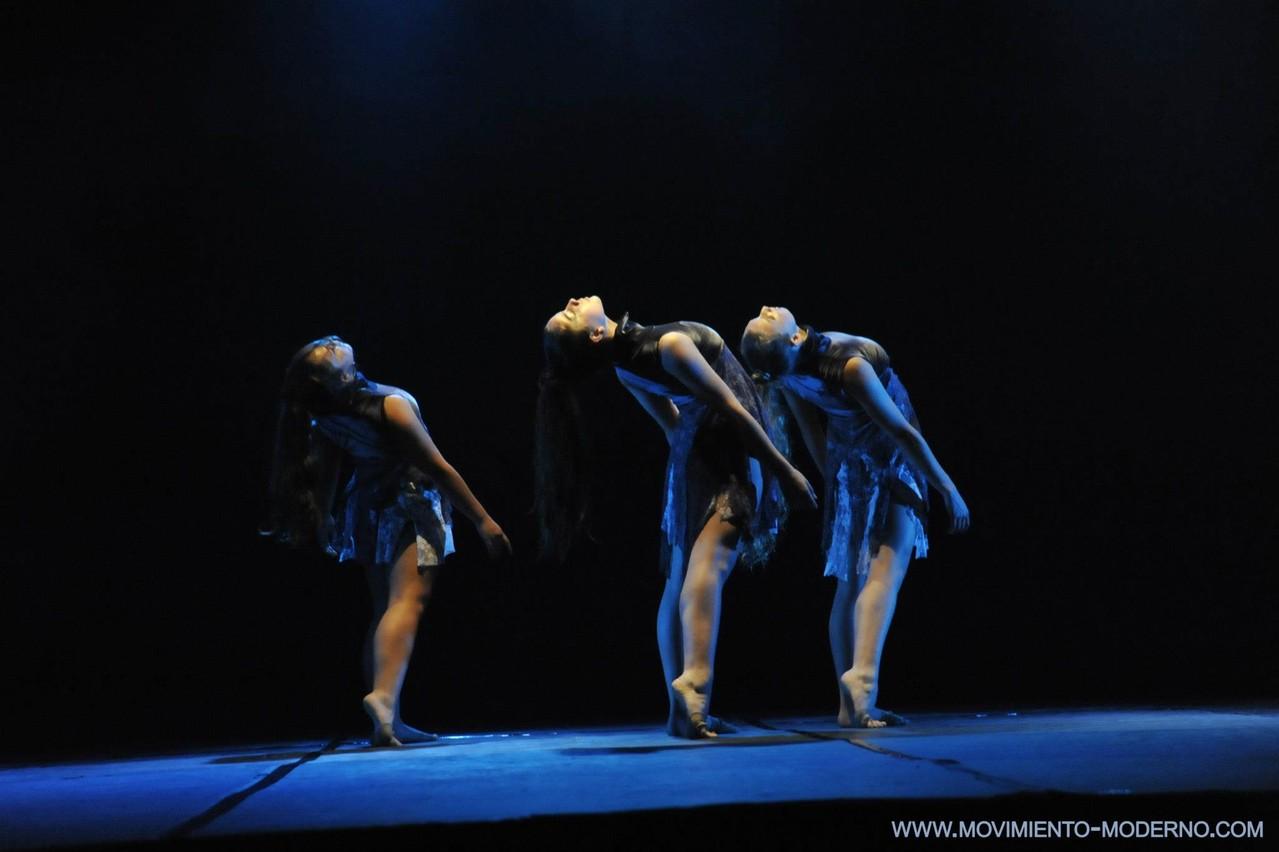 Obra Brisas 2º lugar Brasil 2012 intérpretes Amanda Torres(15)-Laura Ahumada(16)-Antonia Toro(13)