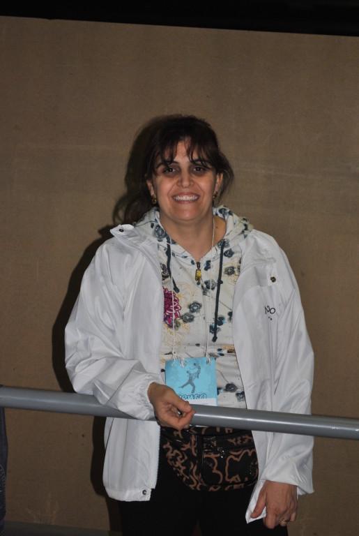 Samia, mamá  colaboradora borda todas las mallas
