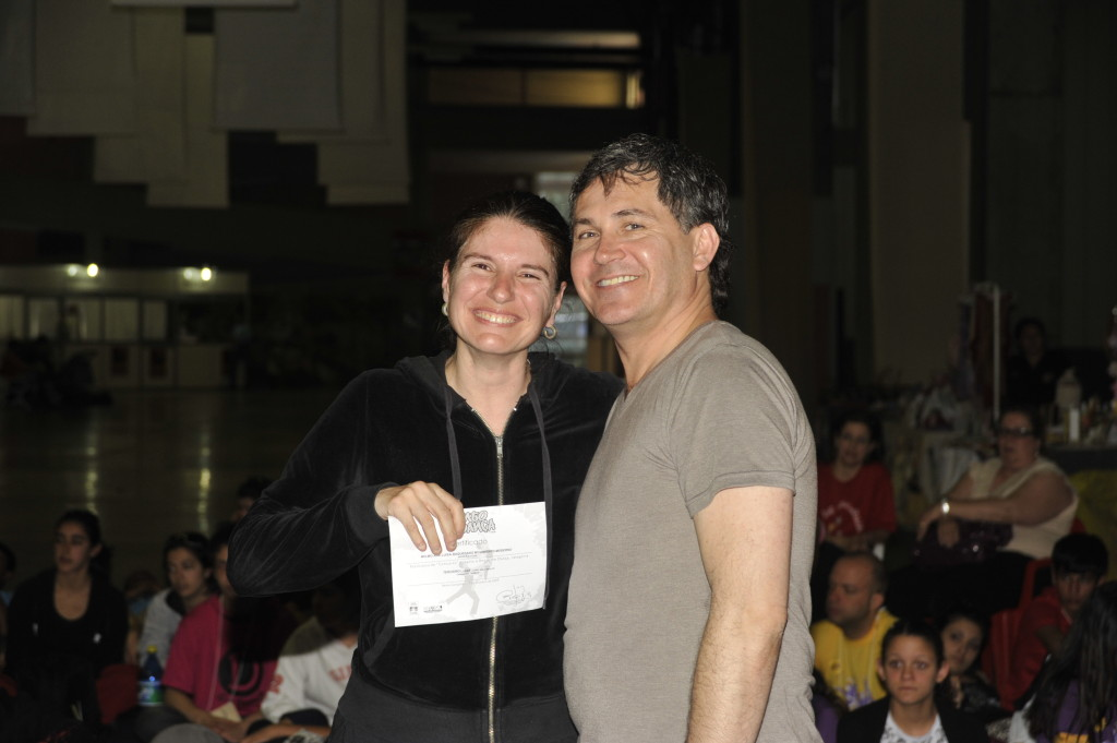 3º lugar coreografía Damas Br-09