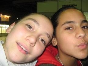 Sofía y Trini uff!! que sueño