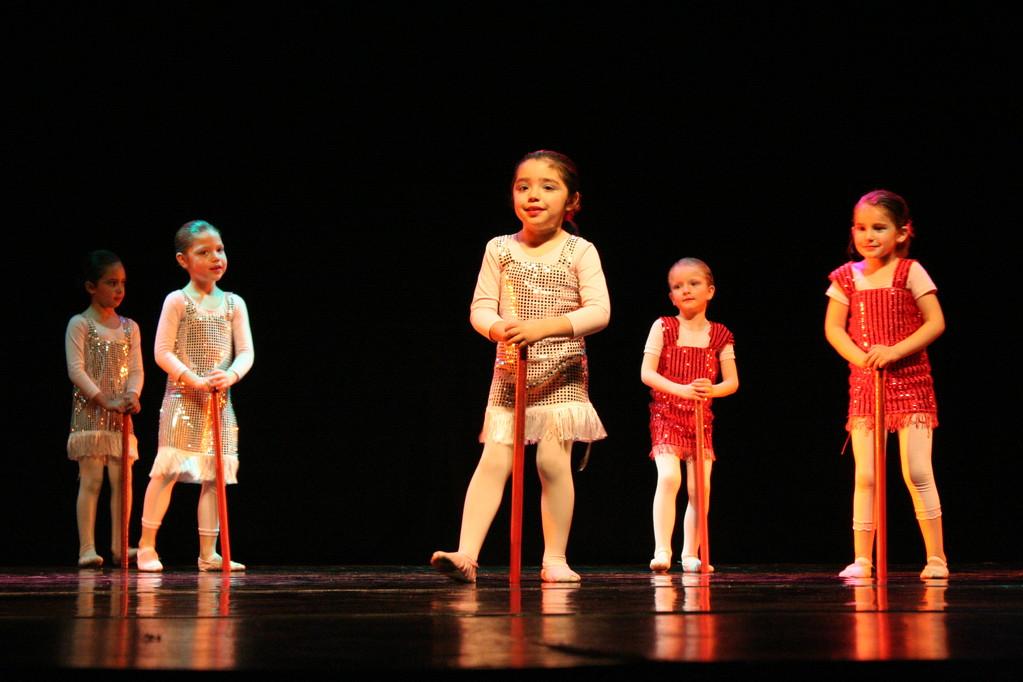 curso Pre Ballet función agosto 2010 teatro Oriente