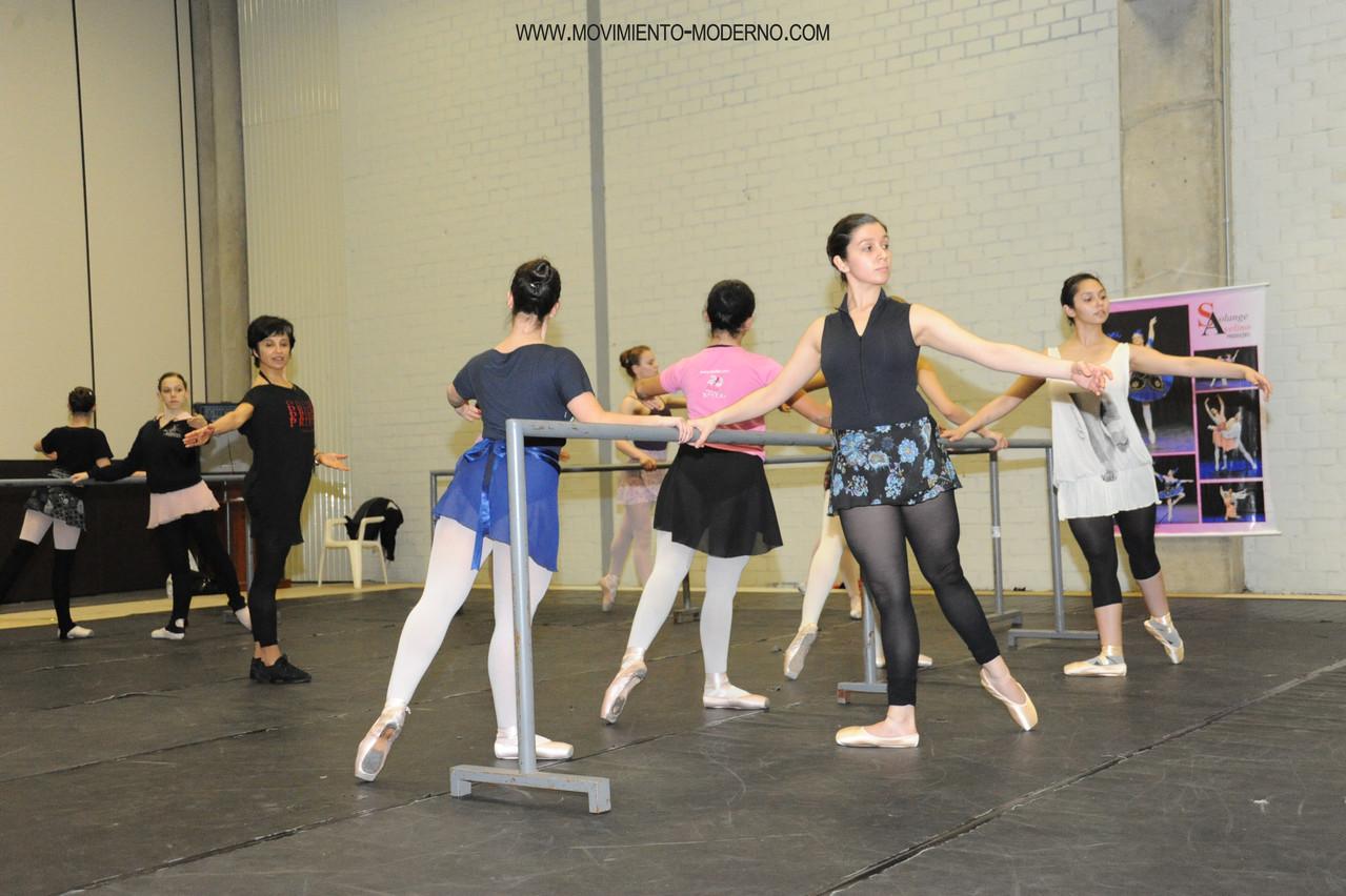 Cía. Mo-Mo seminario de danza Bento-em-danca, Brasil 2012