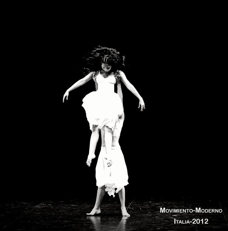 Obra Gloria Italia 2012 Intérpretes Isidora Aguirre José Luis Santibañez; coreografía: Ana Luisa Baquedano