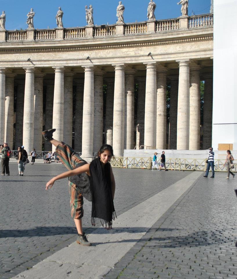 Viaje  cía. Mo-Mo a Italia Festival Città Di Rieti mayo 2012