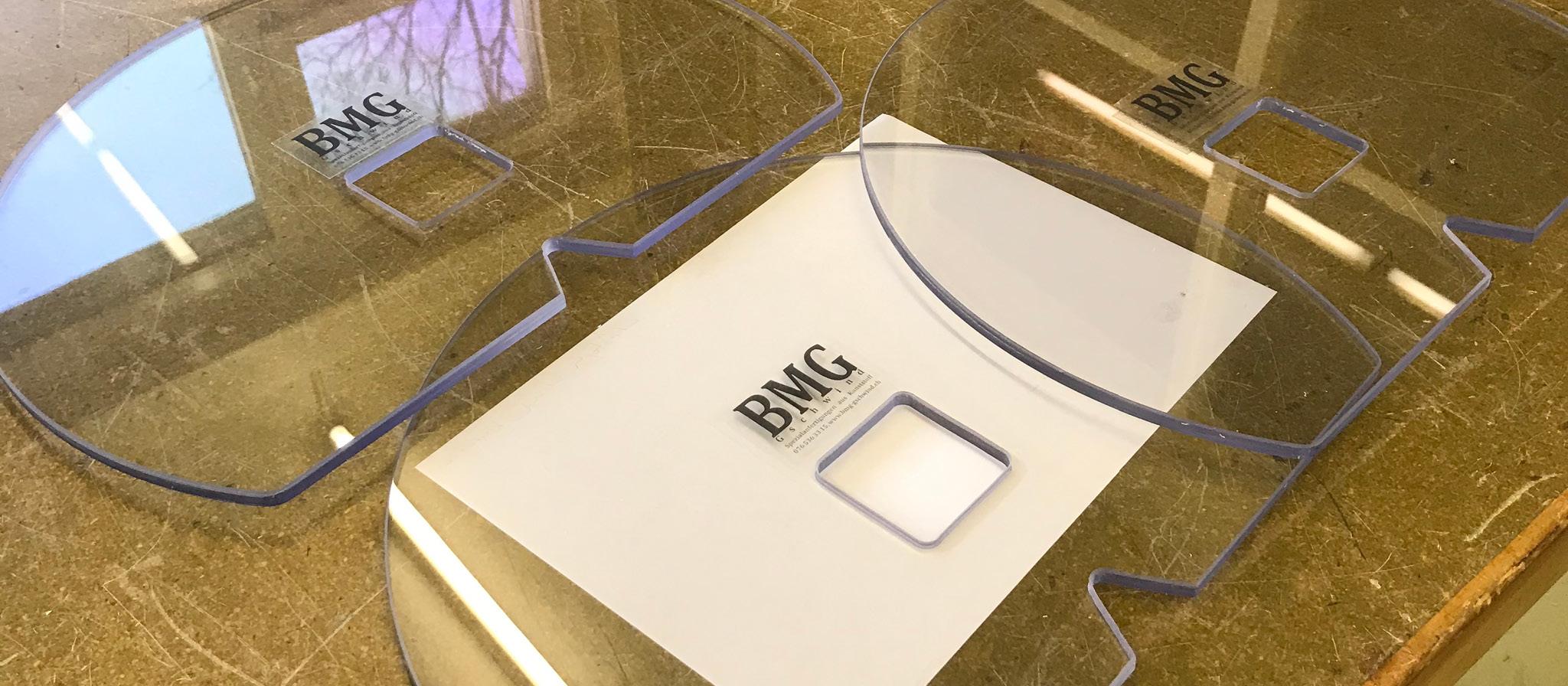 Seitenschutz für Bandrolle aus PC