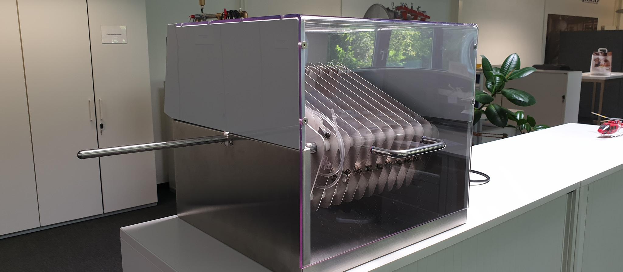 Maschinen-Verkleidung aus PP transparent PET
