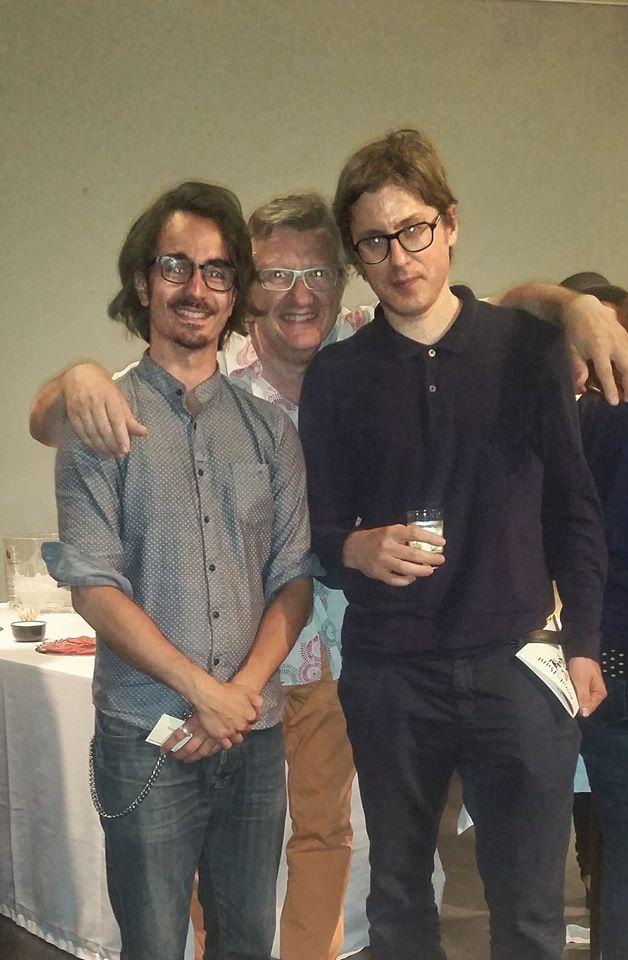 Avec Romaric Gergorin et Stéphane Guillon Verne, Paris 2017