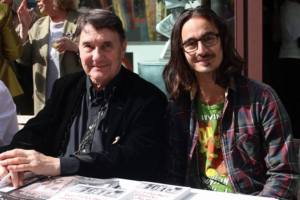 Avec Pierre Passot, 1er ministre de Montmartre