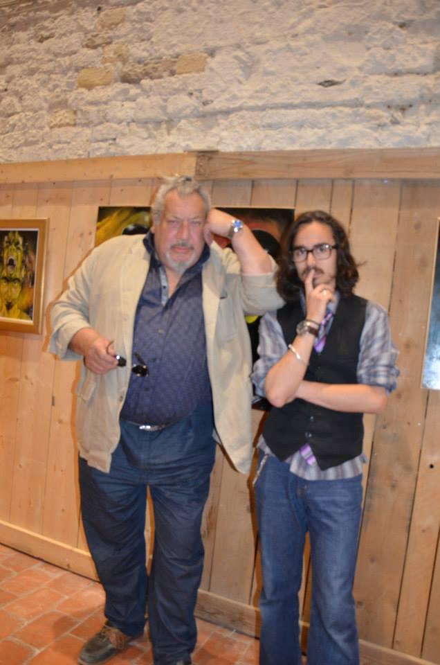 Avec Jean-Claude Dreyfus, Honfleur 2013