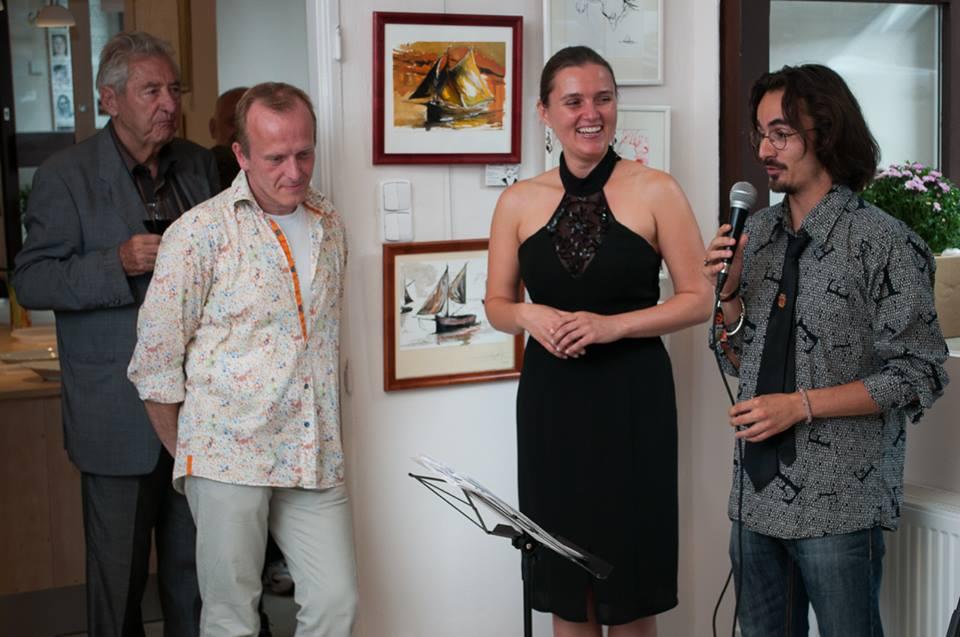 Première exposition des Honfleurais à Prague, 2014