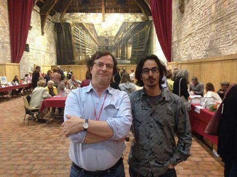 Avec François Rollin, Honfleur 2016