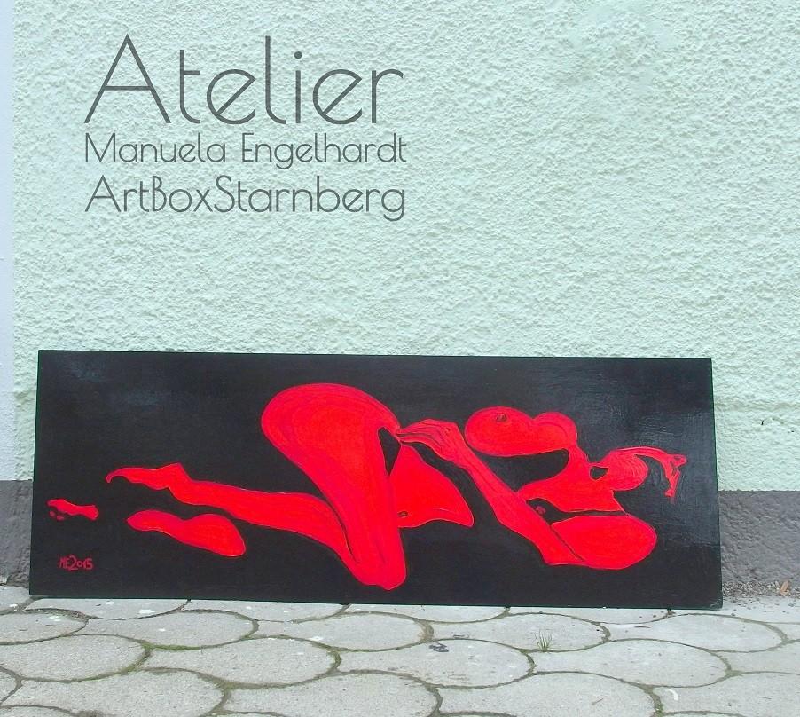 Switch-Gemälde - Atelier Manuela Engelhardt - ArtBoxStarnberg