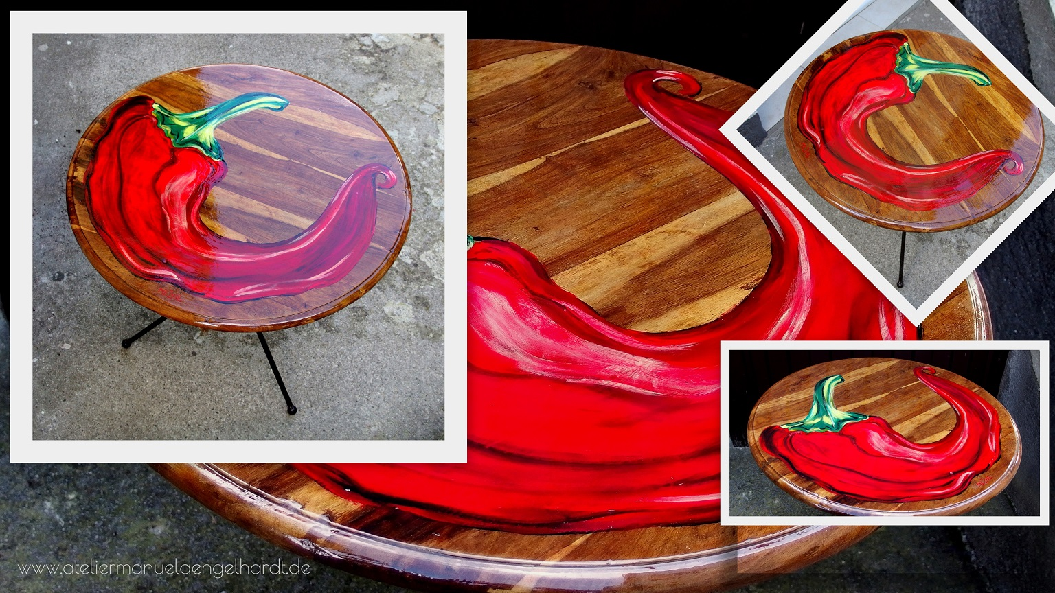 Peperoni Vintage Gartentisch - Nicht mehr verfügbar.